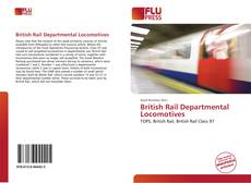 Capa do livro de British Rail Departmental Locomotives