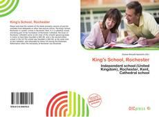 Buchcover von King's School, Rochester