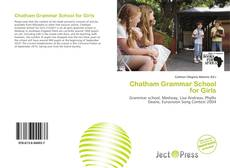 Buchcover von Chatham Grammar School for Girls