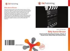 Billy Aaron Brown的封面
