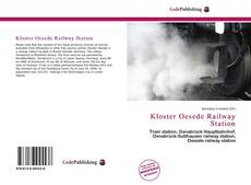 Bookcover of Kloster Oesede Railway Station
