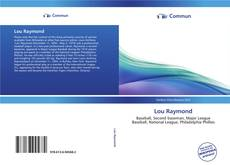 Bookcover of Lou Raymond