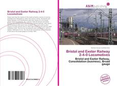 Portada del libro de Bristol and Exeter Railway 2-4-0 Locomotives