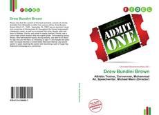 Couverture de Drew Bundini Brown