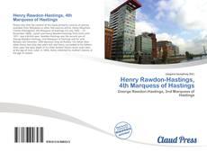 Capa do livro de Henry Rawdon-Hastings, 4th Marquess of Hastings