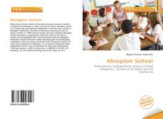 Bookcover of Abingdon School