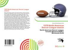 Portada del libro de 1976 North American Soccer League season