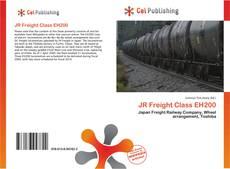 JR Freight Class EH200 kitap kapağı
