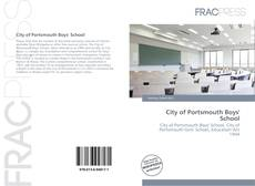 Buchcover von City of Portsmouth Boys' School