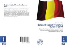 Bookcover of Belgian Football Transfers Summer 2009