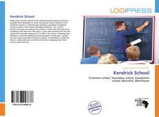 Buchcover von Kendrick School