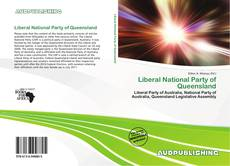 Bookcover of Liberal National Party of Queensland