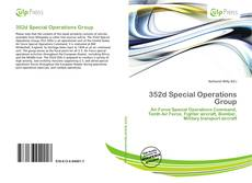 Portada del libro de 352d Special Operations Group