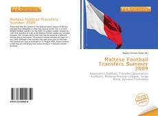 Bookcover of Maltese Football Transfers Summer 2009
