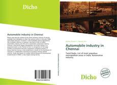Copertina di Automobile industry in Chennai