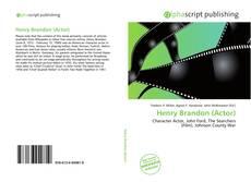 Henry Brandon (Actor)的封面