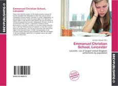 Copertina di Emmanuel Christian School, Leicester