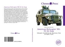 Bookcover of American Helicopter XH-26 Jet Jeep