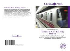 Обложка Hamilton West Railway Station