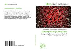 Buchcover von Datong–Jining Campaign