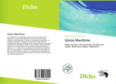 Обложка Génie Maritime