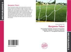 Capa do livro de Benjamin Totori