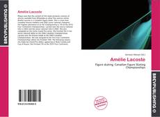 Bookcover of Amélie Lacoste