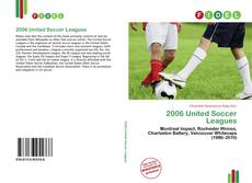 Bookcover of 2006 United Soccer Leagues