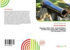 Portada del libro de Fort Ontario