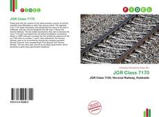 Bookcover of JGR Class 7170