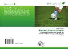 Bookcover of Football Records in Israel