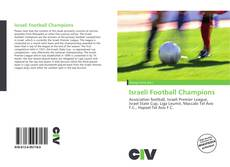 Bookcover of Israeli Football Champions