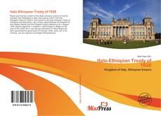 Bookcover of Italo-Ethiopian Treaty of 1928
