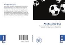 Capa do livro de Alex Sánchez Cruz