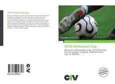 Portada del libro de 2010 Armenian Cup