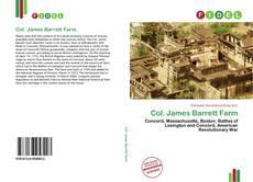 Bookcover of Col. James Barrett Farm
