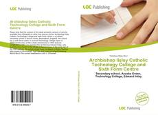 Buchcover von Archbishop Ilsley Catholic Technology College and Sixth Form Centre