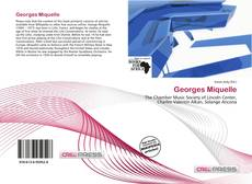 Bookcover of Georges Miquelle