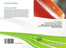 Bookcover of Fat Content of Milk
