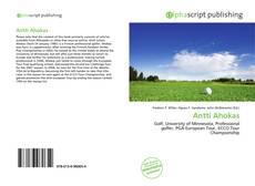 Buchcover von Antti Ahokas