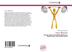 Bookcover of Joey Maxim