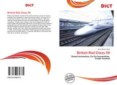 Capa do livro de British Rail Class 59