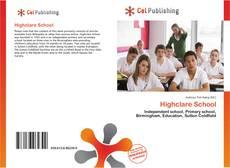 Borítókép a  Highclare School - hoz