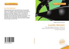 Bookcover of Lucille Benson
