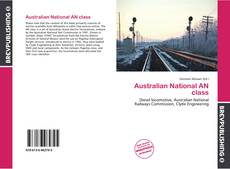 Bookcover of Australian National AN class