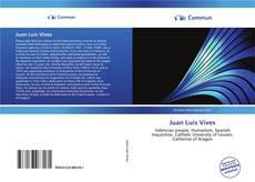 Bookcover of Juan Luis Vives