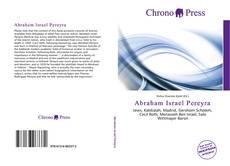 Buchcover von Abraham Israel Pereyra