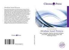Bookcover of Abraham Israel Pereyra
