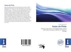 Обложка Isaac de Pinto