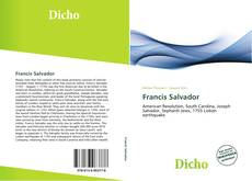 Francis Salvador kitap kapağı